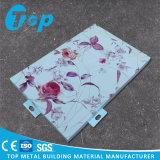 Het decoratieve Stevige Materiaal van het Bekledingspaneel van de Muur van de Plaat van het Aluminium