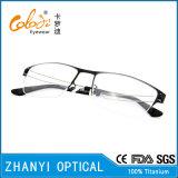 Bâti titanique en verre optiques de lunetterie de monocle du plus défunt modèle (8308)