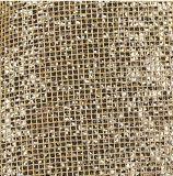 Couro artificial do falso do Glitter para sapatas, sacos, mobília, decoração, vestuário (HS-Y12)