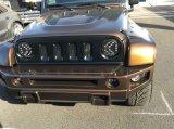 """J251 7 """" faro di pollice 75W Luminex LED per il Wrangler Jku della jeep"""