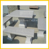 Granite Stone Garden Table & Bench