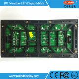 Tevê ao ar livre Rental de alta resolução do diodo emissor de luz do indicador de cor P4 cheia