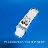 China que dobra a caixa plástica para o empacotamento cosmético da bolha do produto