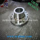 ステンレス鋼のフランジを機械で造るCNC