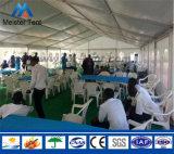 Водоустойчивые алюминиевые шатры случая партии PVC рамки с деревянным настилом