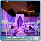 Les seules voûtes de mariage, pipe de Chuppah de mariage et drapent, contexte de mariage