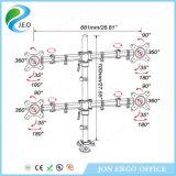 Canalisation verticale chaude de moniteur de bride de bureau de l'étalage d'écran du prix usine de vente de Jeo quatre Ys-D29g-2