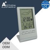 Часы стола цифров станции погоды участка луны с Backlight СИД