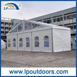 tenda esterna della tenda foranea trasparente di larghezza di 15m per il partito