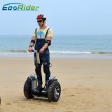 Scooter électrique de Blancing d'individu contrôlé des roues 4000W deux d'Ecorider $$etAPP