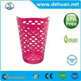 Venda quente cestas plásticas coloridas de pano da cesta de lavanderia para a HOME & o hotel