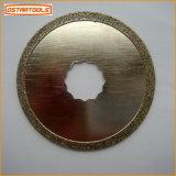 La herramienta eléctrica multi de la función vio la lámina circular de la lechada del diamante de la lámina