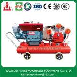 Compresseur d'air portatif diesel de piston de la marque 15HP 5bar de Kaishan W-1.8/5