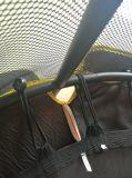 Trampoline redondo grande ao ar livre comercial barato de venda popular com a almofada de tampa da mola