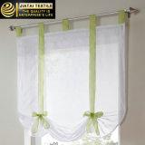 Projetos brancos das cortinas da cozinha das cortinas da série da cozinha do poliéster