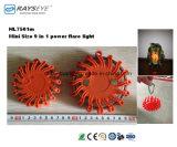Mini Taille 9 en 1 Puissance Flare Voyant de sécurité Lumière Signal