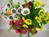 Flor da seda da decoração equipar Home do Gerbera