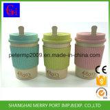 BPA libèrent la cuvette de café chaude de blé de la vente 400ml, tasses