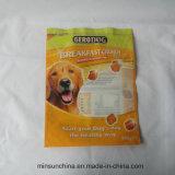 La stampa di plastica si leva in piedi il sacchetto in su impaccante per l'alimento di gatto del cane