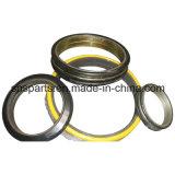 물개 그룹 또는 뜨거나 2_cwung_chang 콘 금속 마스크 편류 반지 또는 인발이 찍힌 반지