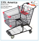 135L America Style Shopping Cart Shopping Trolley