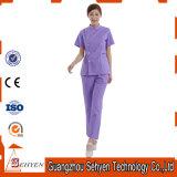 Les uniformes médicaux de modèle fondamental de qualité frottent des jeux pour l'infirmière