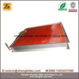 Condensateur refroidi par air d'ailette d'en cuivre de tube de cuivre