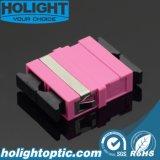 Colore rosa dello Sc Dx Om4 dell'adattatore senza flangia