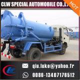4m3 하수구 청소 유조 트럭