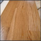 3 Capa 3 tiras de madera de roble de pisos