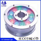 Indicatore luminoso subacqueo di CC 12V RGB LED della piscina LED 10W