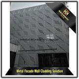 Rivestimento decorativo della parete della facciata di alluminio esterna del metallo
