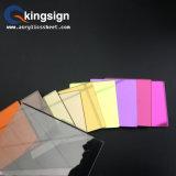 Het hoge Weerspiegelende AcrylBlad van de Spiegel van de Kleur