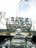 Großverkauf 8 Zoll-Inline-Recycler-rauchendes Wasser-Glasrohr