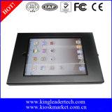 Soporte montado en la pared del iPad con recinto bloqueable