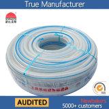 Boyau renforcé de l'eau de fibre tressé par PVC (KS-16198SSG clairement)