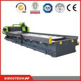 CNC del acero inoxidable y del metal de hoja que acanala la máquina