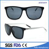 De Hete Verkopende Plastic Zonnebril van uitstekende kwaliteit van de Tempel van het Metaal van het Frame