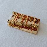 Мост баса седловины популярного шнура цвета 4 золота латунный