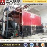 alta efficienza di migliore vendita di pressione di 1tph 2tph 4tph 6tph 8tph 10tph 10-25bar e caldaia a vapore infornata carbone del consumo del con gallerie a sezione ridotta