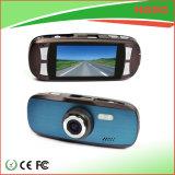青いカラー小型デジタル無線車のダッシュのカメラ1080P