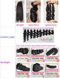 волос девственницы 100% 8A выдвижение волос камбоджийских людских Remy прямое естественное отсутствие линяя Weave Lbh 006 волос путать свободно