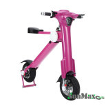 цвет 36V 350W розовый складывая электрическую батарею велосипеда 8ah