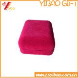 卸売の赤いギフトのフランネルボックスCustomedのロゴ(YB-HR-75)