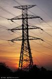 башня ангела передачи силы 330kv стальная