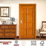 新しいデザイン4パネルMDFのボードの合成の木のドア(GSP6-014)
