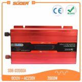 C.A. da C.C. de Suoer 12V 220V 2000W fora do inversor da grade (SDB-D2000A)