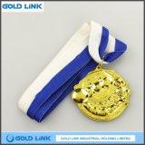 鋳造の金メダル子供のためのカスタムメダル挑戦硬貨の円形浮彫り