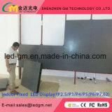 Indicador de diodo emissor de luz interno da visão dos media de anúncio do preço de grosso P2.5, USD1080