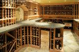 De luxe past het Meubilair van het Huis van het Rek van de Fles van de Kelder van de Wijn aan